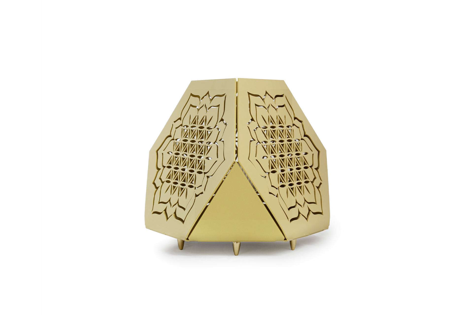 Sacrea Produkt-Bild: tischleuchte-tera-flower-gold-1