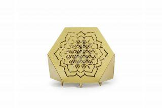 Sacrea Produkt-Bild: tischleuchte-tera-flower-gold-2