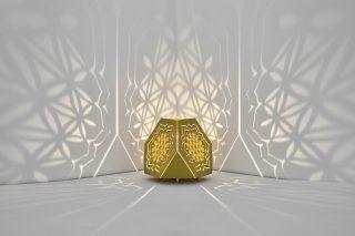 Sacrea Produkt-Bild: tischleuchte-tera-flower-gold-3
