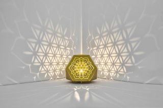Sacrea Produkt-Bild: tischleuchte-tera-flower-gold-4