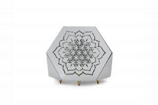 Sacrea Produkt-Bild: tischleuchte-tera-flower-silver-2