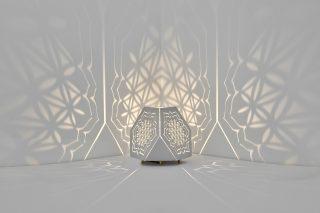 Sacrea Produkt-Bild: tischleuchte-tera-flower-silver-3