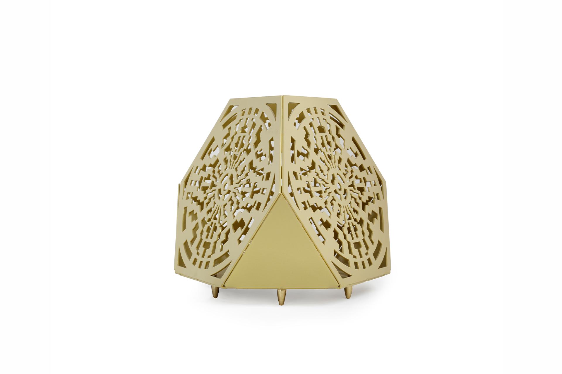Sacrea Produkt-Bild: tischleuchte-tera-maya-gold-1