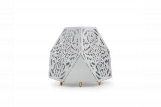 Sacrea Produkt-Bild: tischleuchte-tera-maya-silver-1