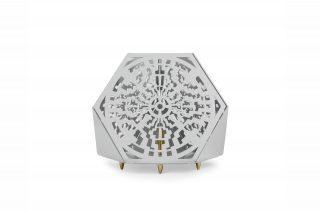 Sacrea Produkt-Bild: tischleuchte-tera-maya-silver-2
