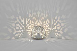Sacrea Produkt-Bild: tischleuchte-tera-maya-silver-3