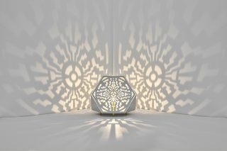Sacrea Produkt-Bild: tischleuchte-tera-maya-silver-4